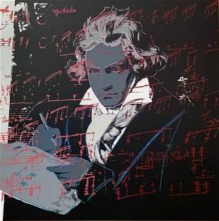 Andy Warhol Beethoven 391 Sunday B Morning LE Serigraph