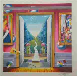 Ferjo The Garden Litho AP Lithograph on Paper  LE