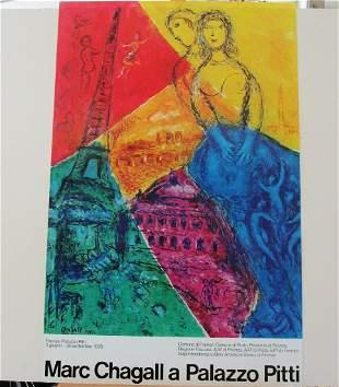 Marc Chagall Palazzo Pitt Lithograph
