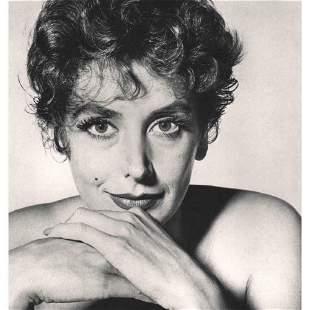 Irving Penn Kay Kendall, Photogravire, 1960 Photolitho