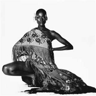 Irving Penn Naomi Sims in Scarf NY 1969 Photo litho
