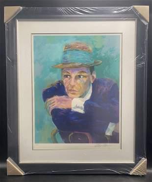 Leroy Neiman - Frank Sinatra The Voice L/E Serigraph Fr
