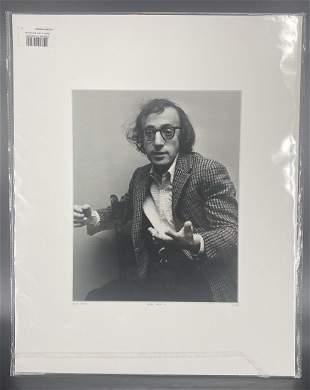 Pierre Venant Woody Allen II Photograph L/E COA and #