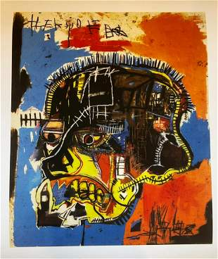 Jean Michel Basquiat Untitled 1981 Giclee on Paper