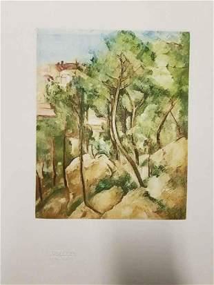 Paul Cezanne VUE SURE LA MER L