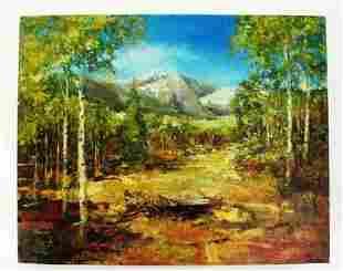 Stephen Shortridge Fall Grand Original Oil