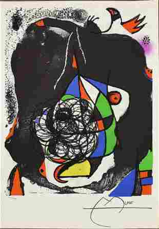 Joan Miro End of Illusion II Lithograph