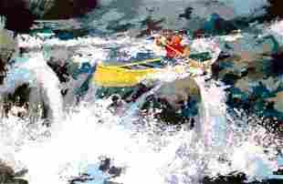 Wayland Moore White Water Lithograph LE