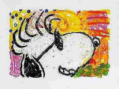 Tom Everhart Pop Star Hand Signed Limited Edition Litho