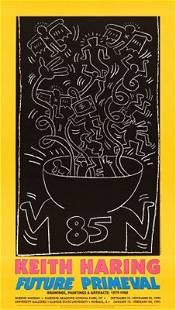Keith Haring Subway Drawings Offset Lithograph on Paper