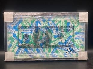 E.M. Zax Fragile $100 One-of-a-kind 3D polymorph