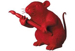 Banksy Love Rat Red Ver. Medicom Toy MCT Tokyo