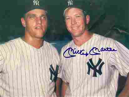 Autographed Mickey Mantle & Roger Maris Photograph