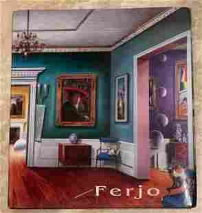 Ferjo Dreams and Reality Hardcover Book
