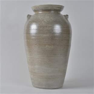 CB Craven and Owens Pottery Salt Glaze Churn