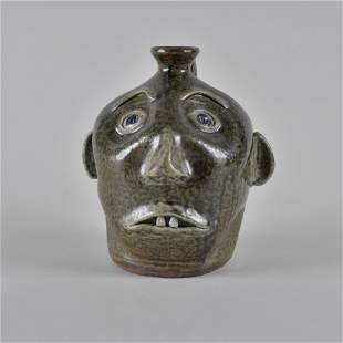 Cleater Meaders face jug