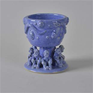 Stacy Lambert Figural Chalice dated 2001