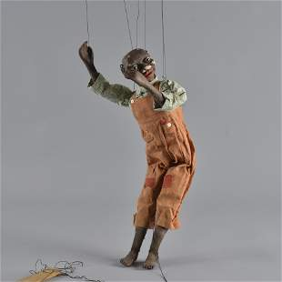 African American Puppet ca. 1920