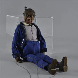 African American Puppet ca. 1921