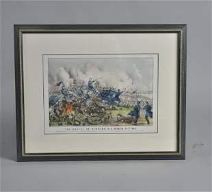 Currier and Ives battle of Newbern NC