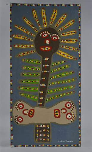 Richard Burnside Folk Art Painting