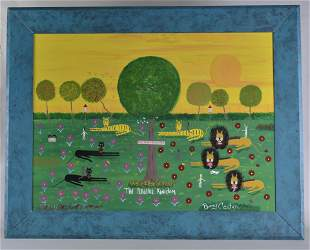 Benny Carter Folk Art Peaceful Kingdom