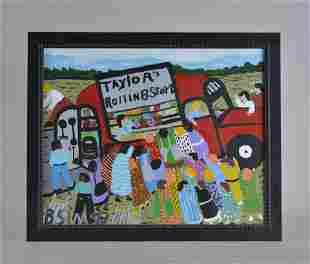 Bernice Sims (African American, Alabama) folk art