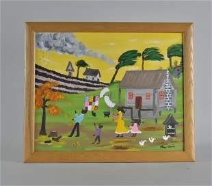 Lisa Cane (African American, Mississippi) folk art