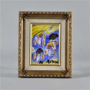 Alyne Harris small framed painting
