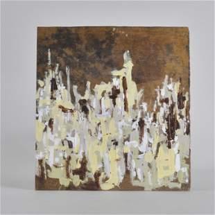 Matthew Mazurkiewkz painting on board