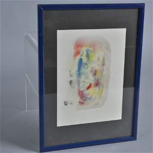 Albert Louden abstract painting