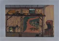 Frankie Lane folk art painting