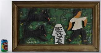 Mary L Proctor b. 1960 (Obama and dogs)