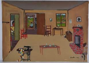Frankie Lane Painting (sewing machine)