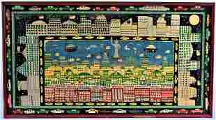 Benny Carter Folk Art Painting