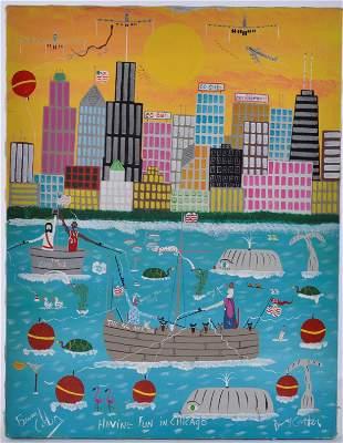 Benny Carter Michael Jordan Painting