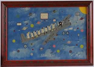 Benny Carter Folk Art Painting (soul plane)