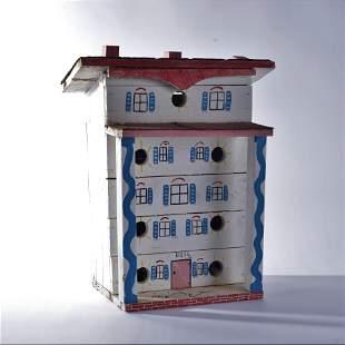 Benny Carter Environmental Bird House (white with