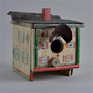 Benny Carter (environmental) Folk Art Bird House