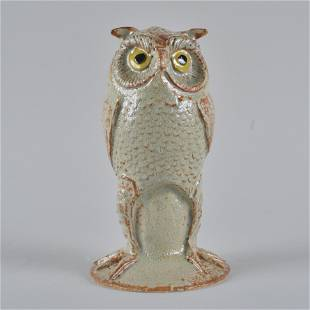 Marvin Bailey Pottery Figural Owl