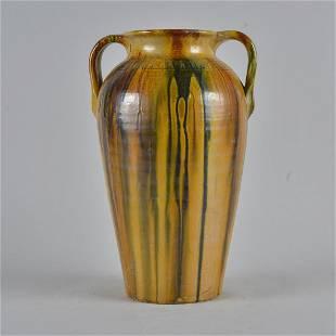 Auman Pottery Vase ca. 1930
