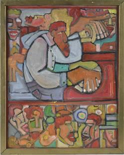 Lavon Williams Folk Art Painting