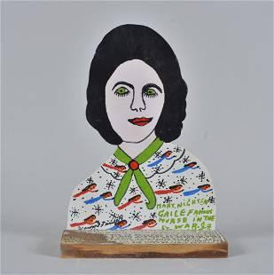 Howard Finster Folk Art Mary Nightengaile