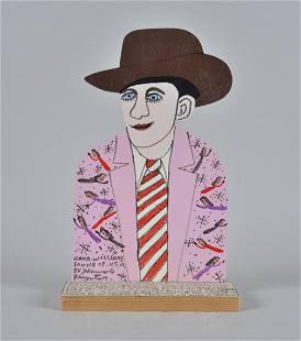 Howard Finster Folk Art Hank Williams