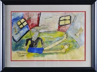 Charlie Lucas Tin Man Painting