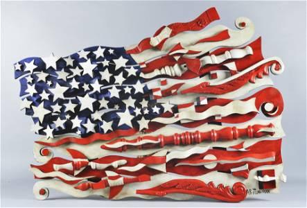"AB THE FLAGMAN Large American Flag 51"" x 36.5"""