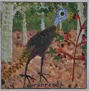John Cornbread Anderson Turkey Painting
