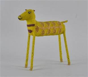 Zulu Indian Beaded Folk Art Horse