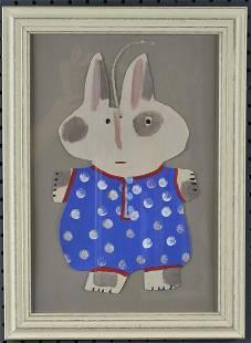 Cher Shaffer folk art painting