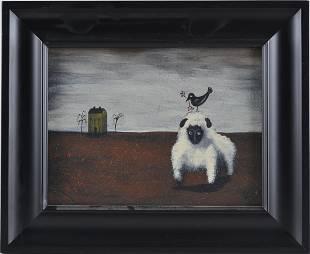 Debra Kersey folk art painting